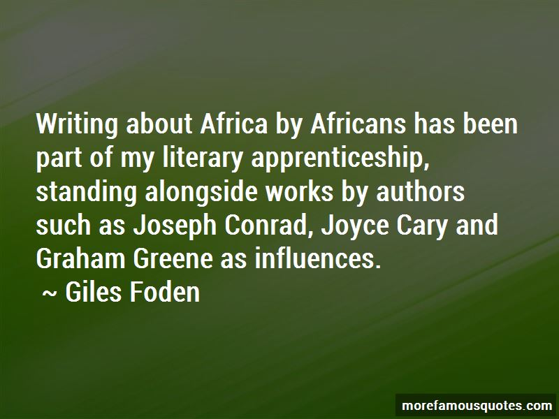 Giles Foden Quotes Pictures 3