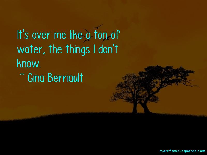 Gina Berriault Quotes Pictures 3