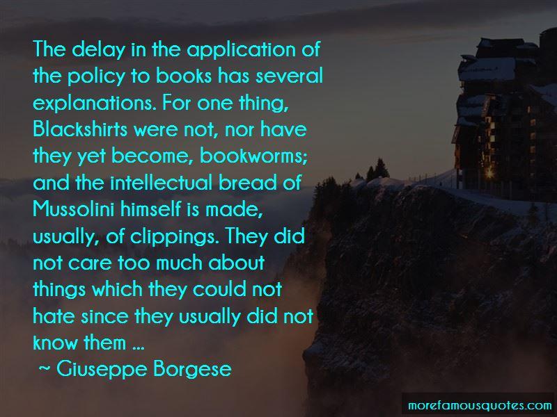 Giuseppe Borgese Quotes
