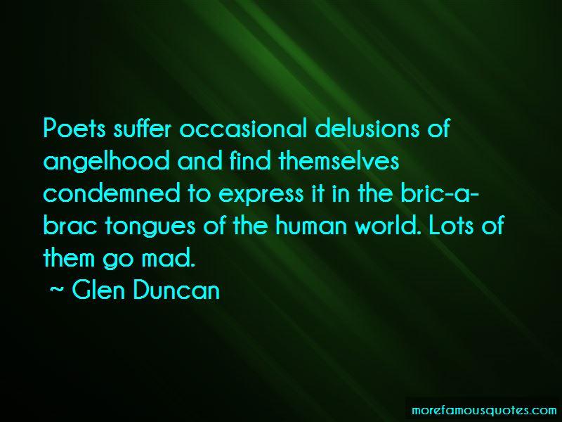 Glen Duncan Quotes Pictures 2