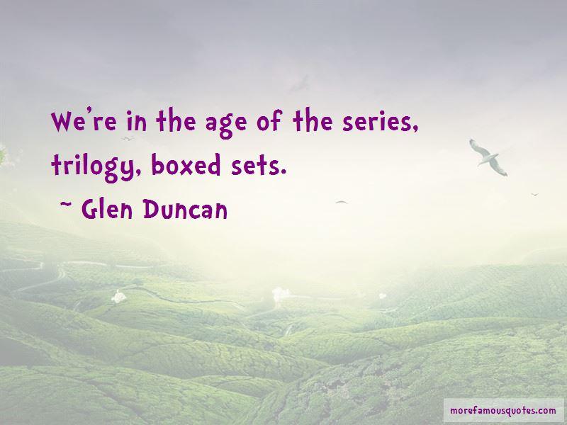 Glen Duncan Quotes Pictures 3