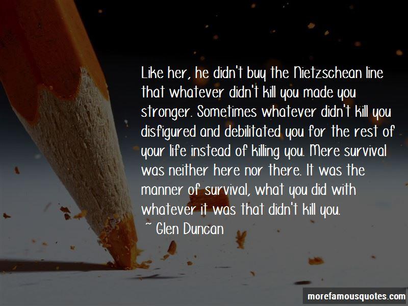 Glen Duncan Quotes Pictures 4