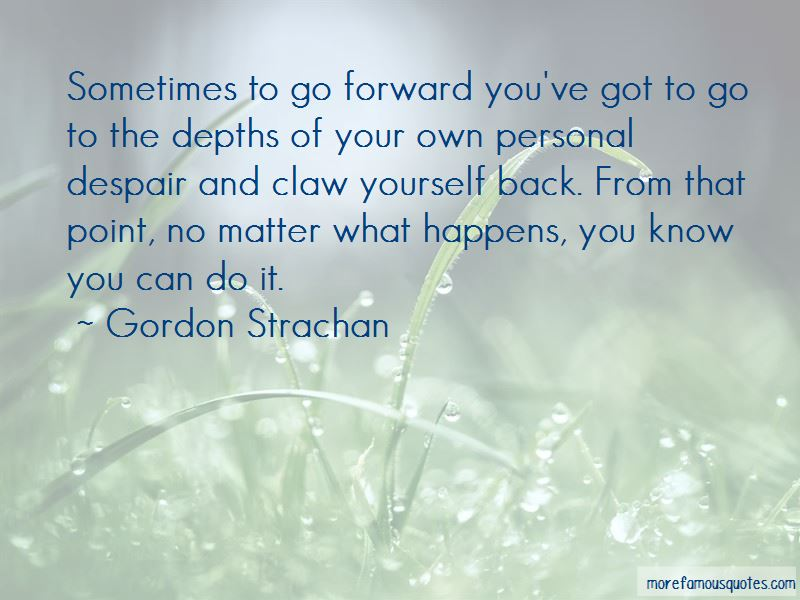 Gordon Strachan Quotes