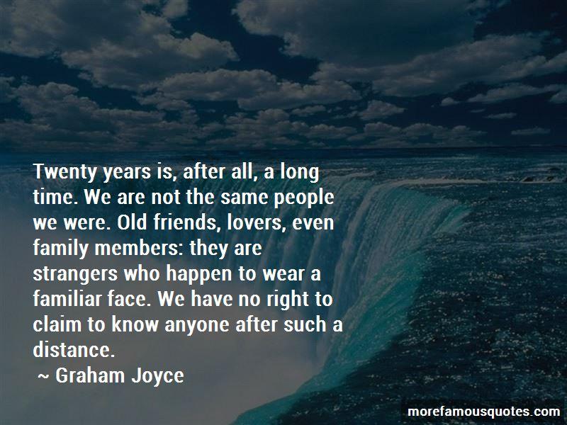 Graham Joyce Quotes
