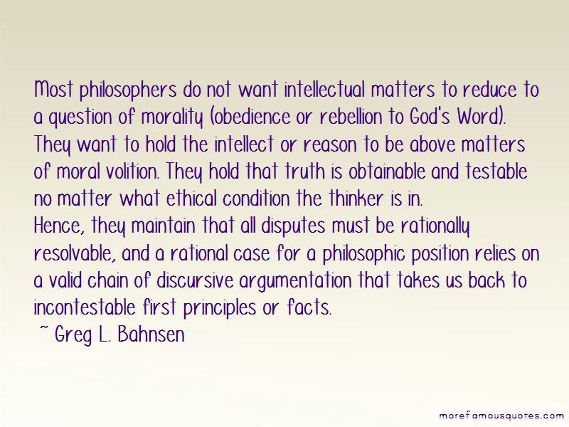 Greg L. Bahnsen Quotes Pictures 2