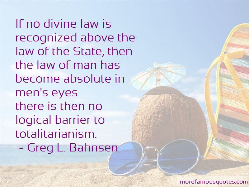 Greg L. Bahnsen Quotes Pictures 3