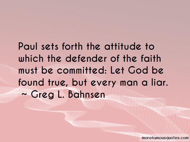 Greg L. Bahnsen Quotes Pictures 4