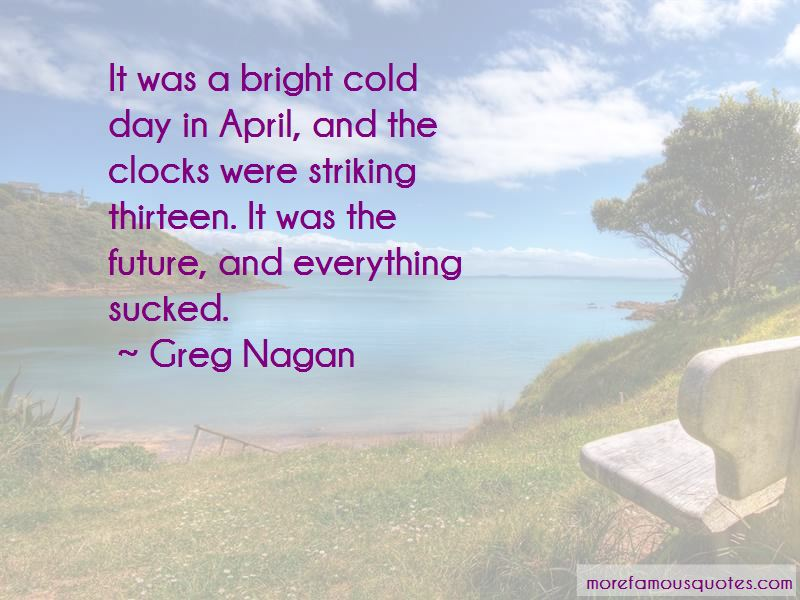 Greg Nagan Quotes
