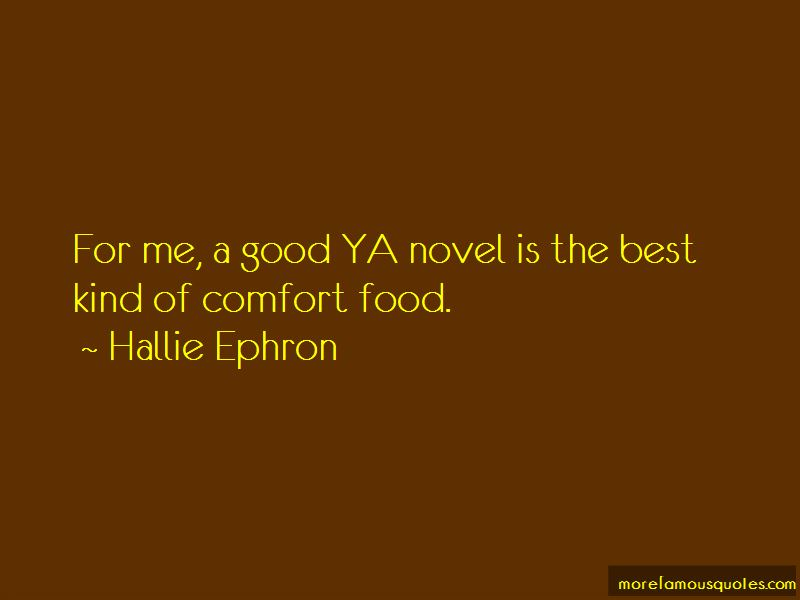 Hallie Ephron Quotes Pictures 2