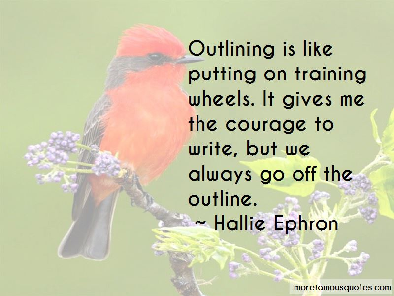 Hallie Ephron Quotes Pictures 4