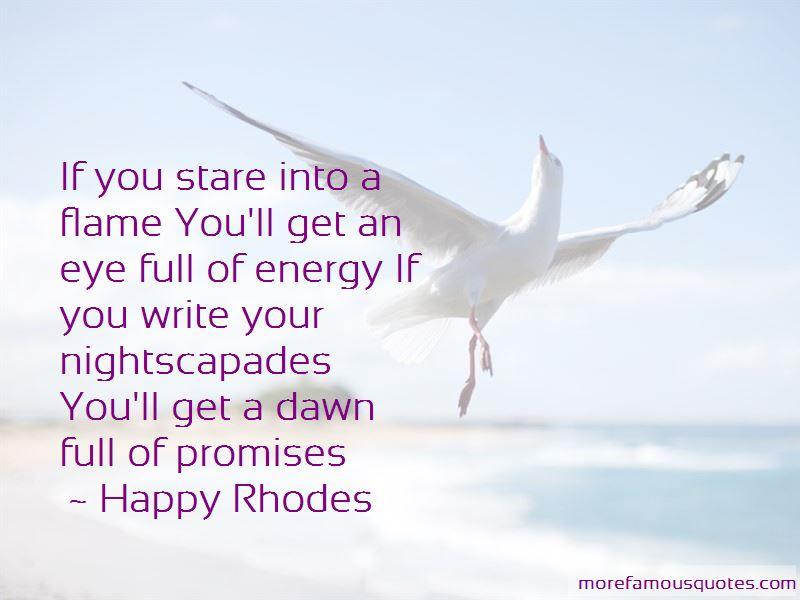 Happy Rhodes Quotes