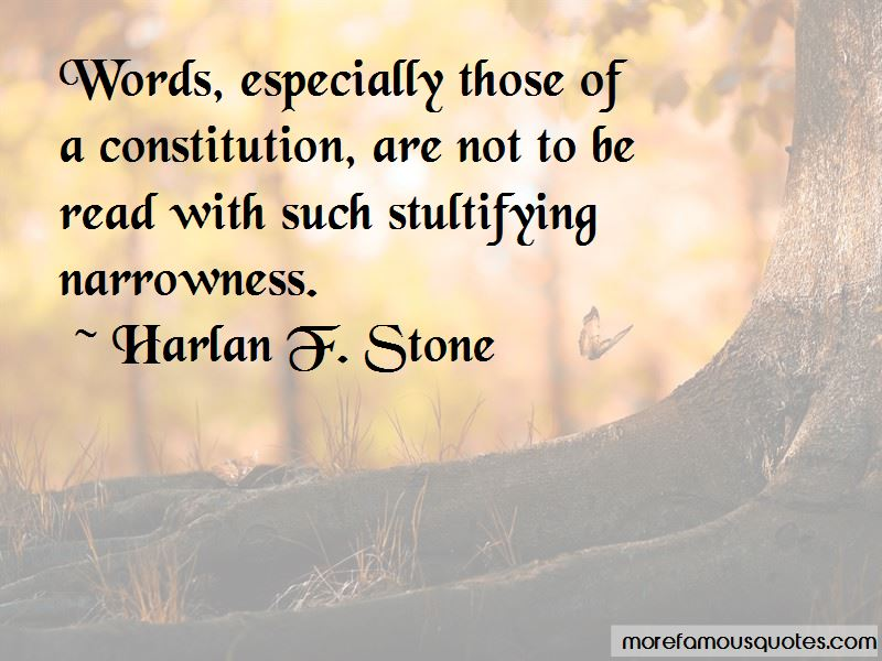 Harlan F. Stone Quotes Pictures 3