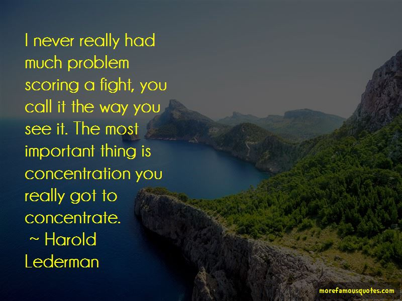 Harold Lederman Quotes Pictures 3