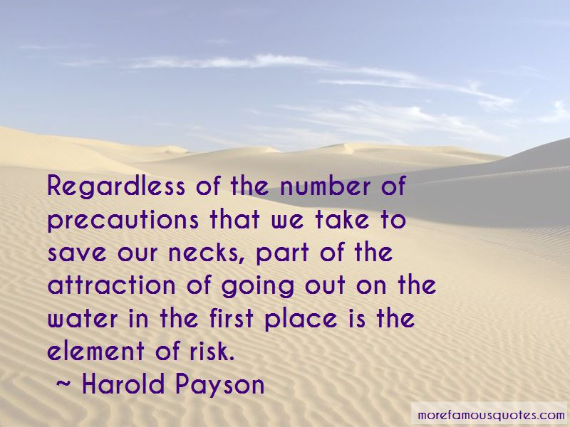 Harold Payson Quotes