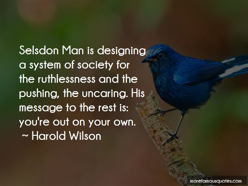 Harold Wilson Quotes Pictures 2