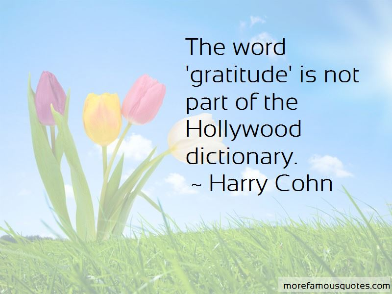 Harry Cohn Quotes Pictures 2