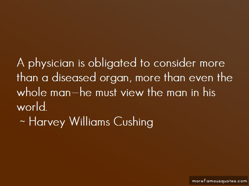Harvey Williams Cushing Quotes Pictures 2