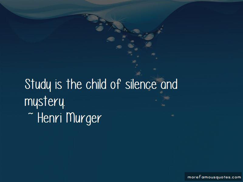 Henri Murger Quotes