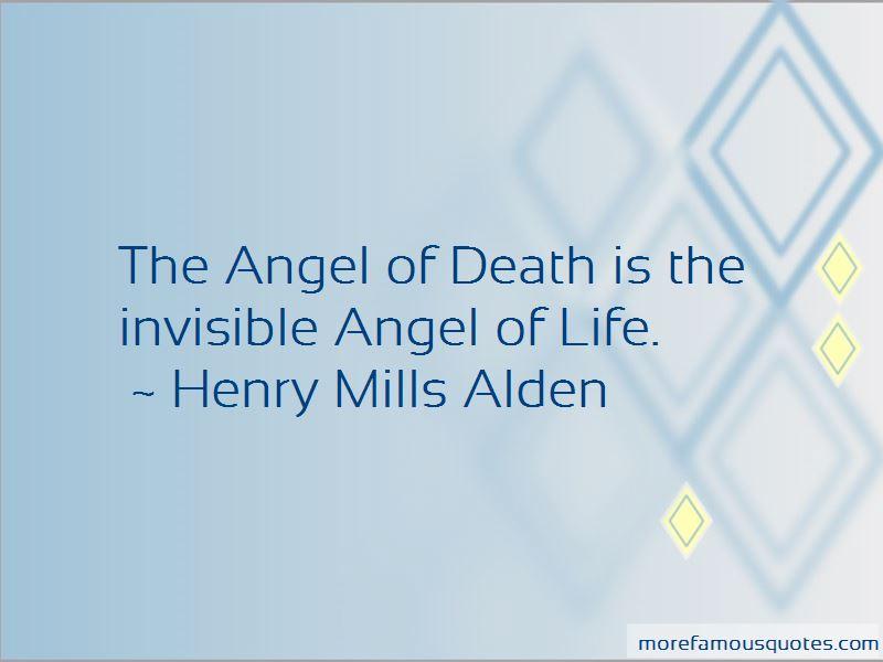 Henry Mills Alden Quotes