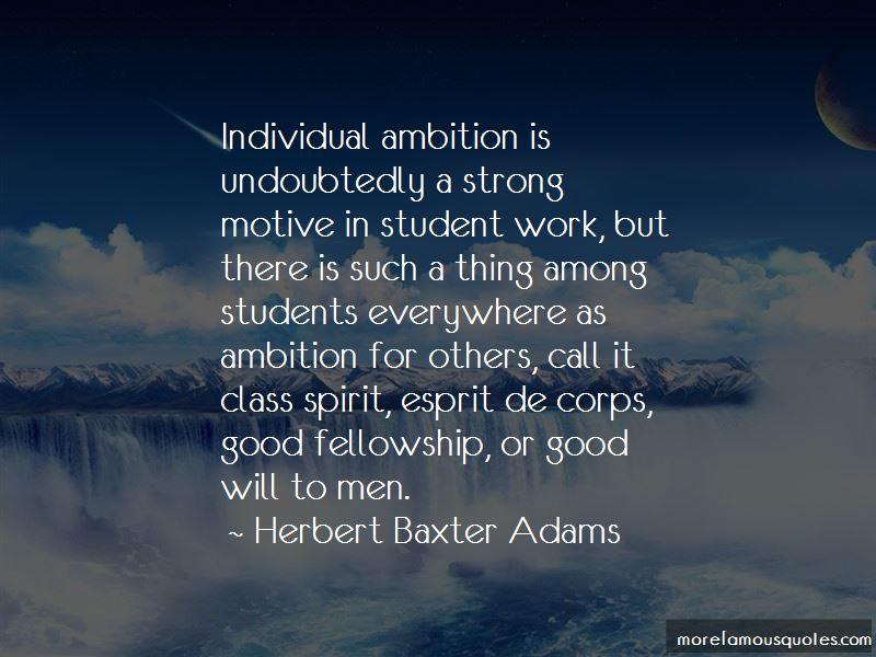 Herbert Baxter Adams Quotes