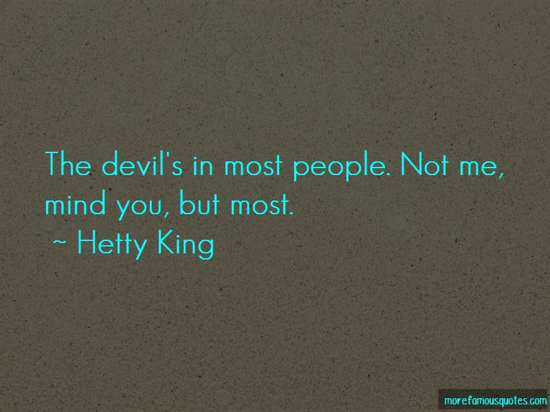 Hetty King Quotes Pictures 2