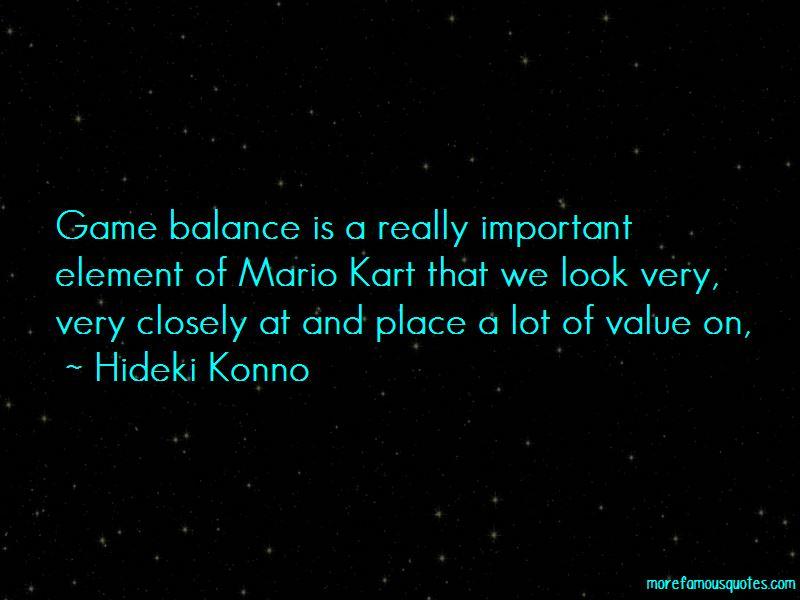 Hideki Konno Quotes