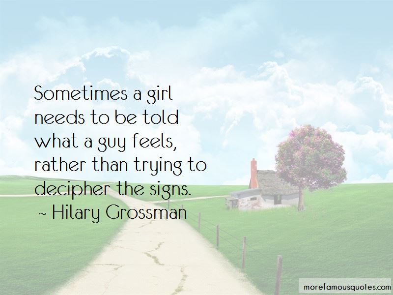 Hilary Grossman Quotes Pictures 2