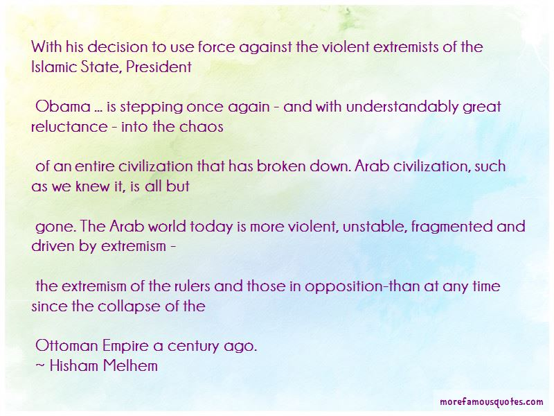 Hisham Melhem Quotes Pictures 4