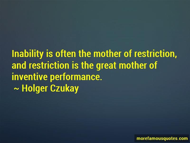 Holger Czukay Quotes