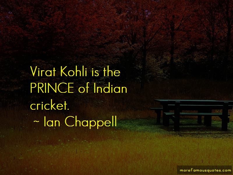 Ian Chappell Quotes Pictures 3