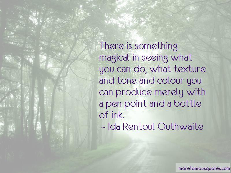 Ida Rentoul Outhwaite Quotes Pictures 2