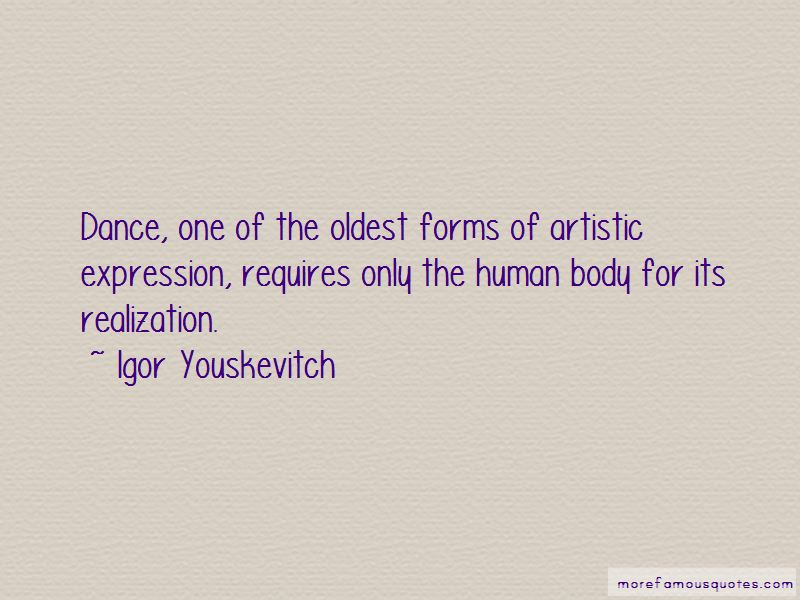 Igor Youskevitch Quotes