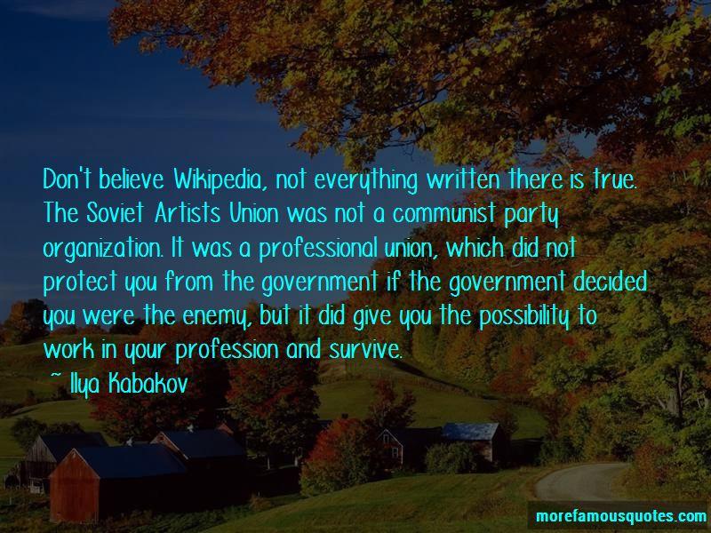 Ilya Kabakov Quotes