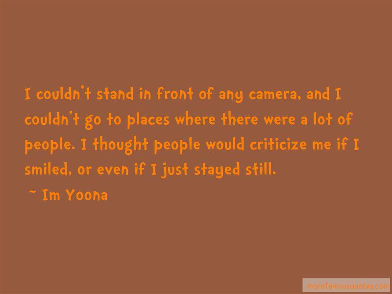 Im Yoona Quotes