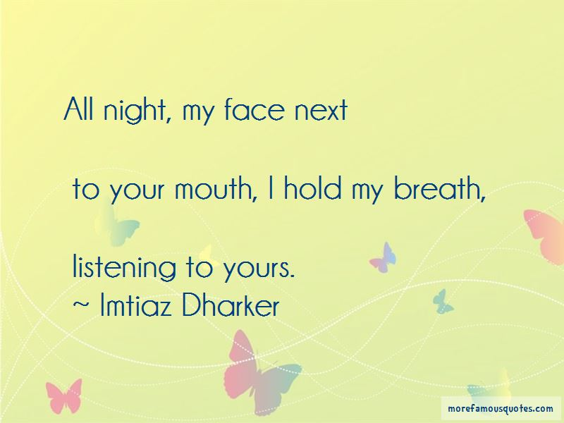Imtiaz Dharker Quotes Pictures 4