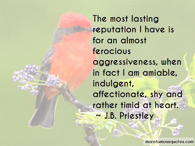 J.B. Priestley Quotes
