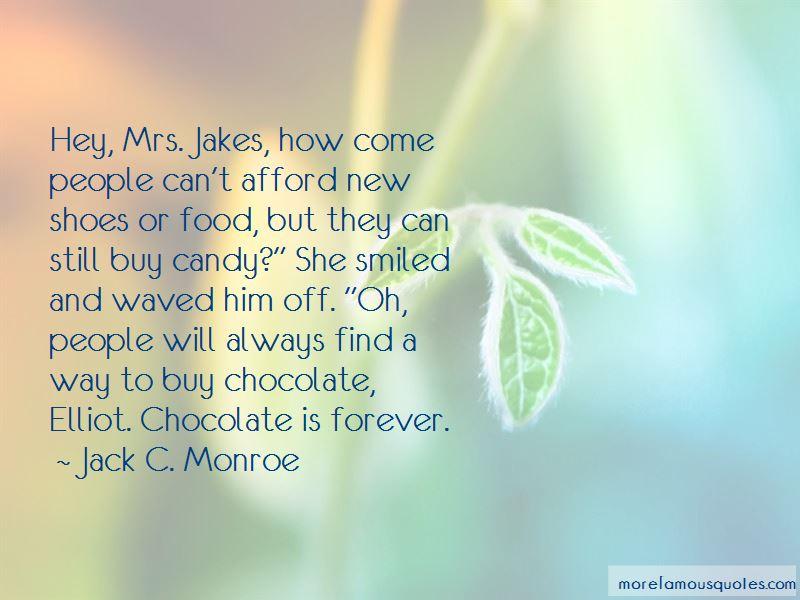 Jack C. Monroe Quotes Pictures 2