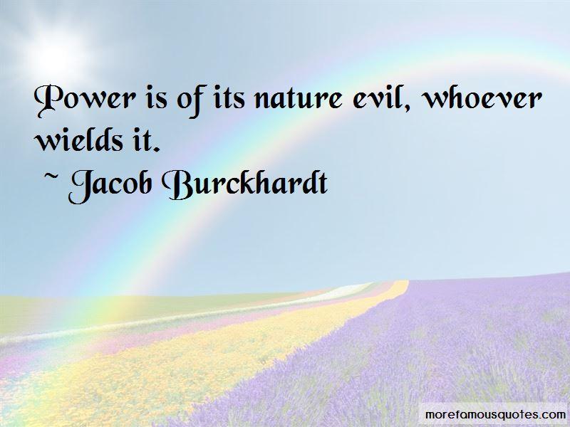 Jacob Burckhardt Quotes