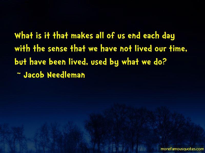 Jacob Needleman Quotes
