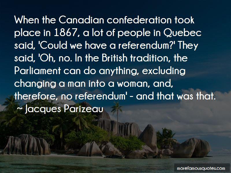 Jacques Parizeau Quotes