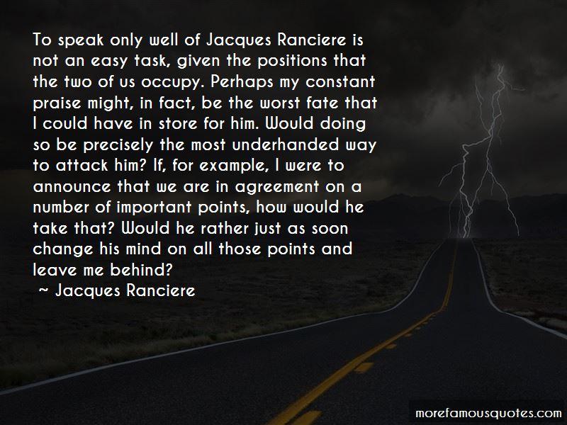 Jacques Ranciere Quotes Pictures 2