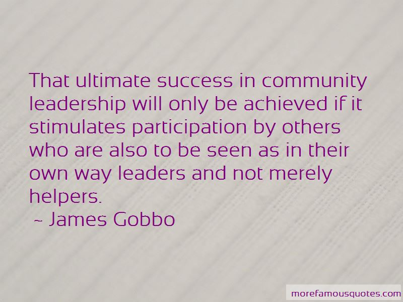 James Gobbo Quotes Pictures 2
