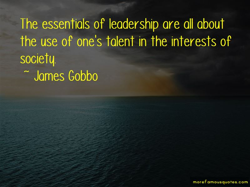 James Gobbo Quotes Pictures 3