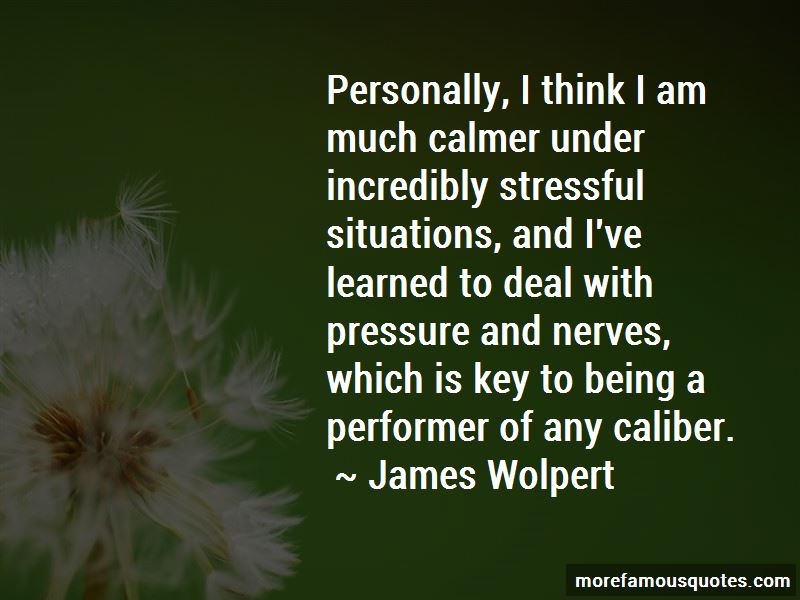 James Wolpert Quotes
