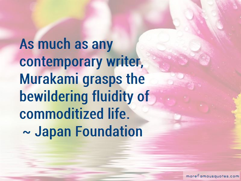 Japan Foundation Quotes
