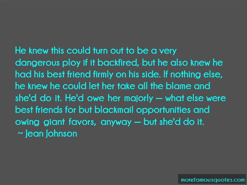 Jean Johnson Quotes