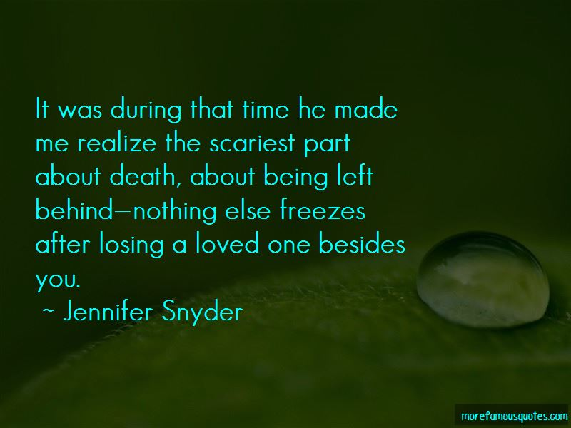Jennifer Snyder Quotes Pictures 2