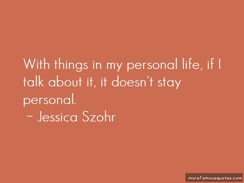 Jessica Szohr Quotes Pictures 3
