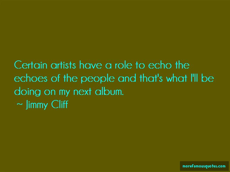 Jimmy Cliff Quotes