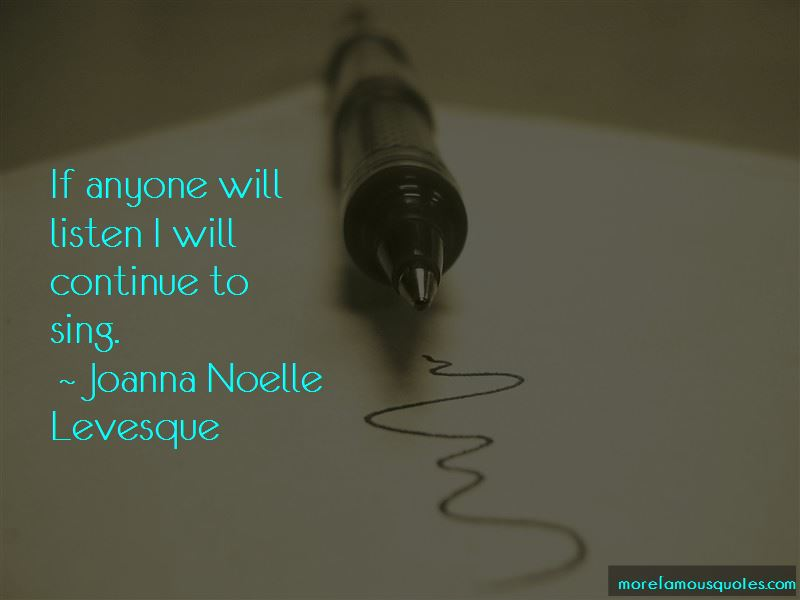 Joanna Noelle Levesque Quotes